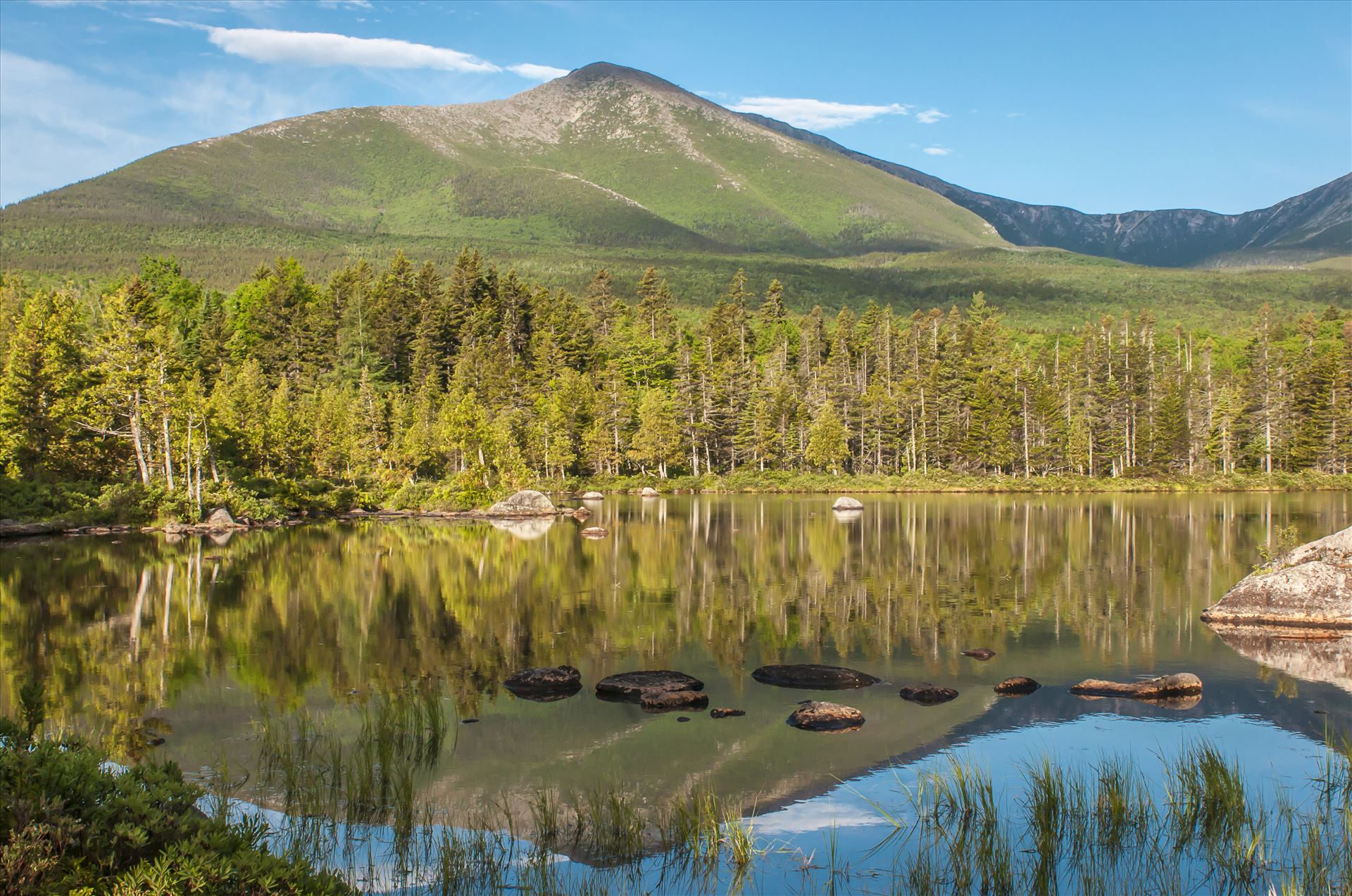 Sandy Stream Pond, BSP, Maine - Baxter State Park, Maine by Buckmaster