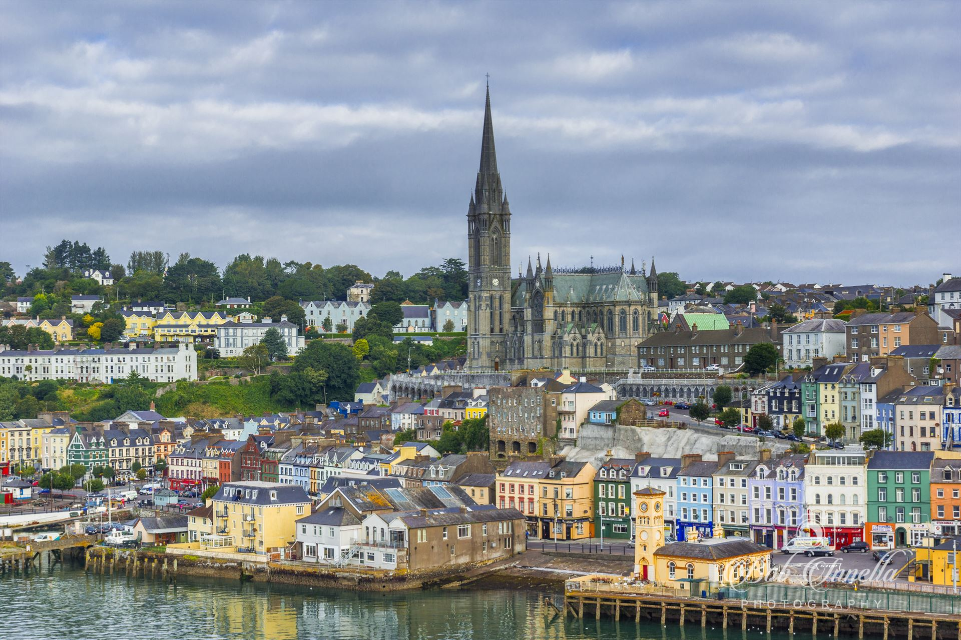 Port in Cobh, Ireland -  by Buckmaster