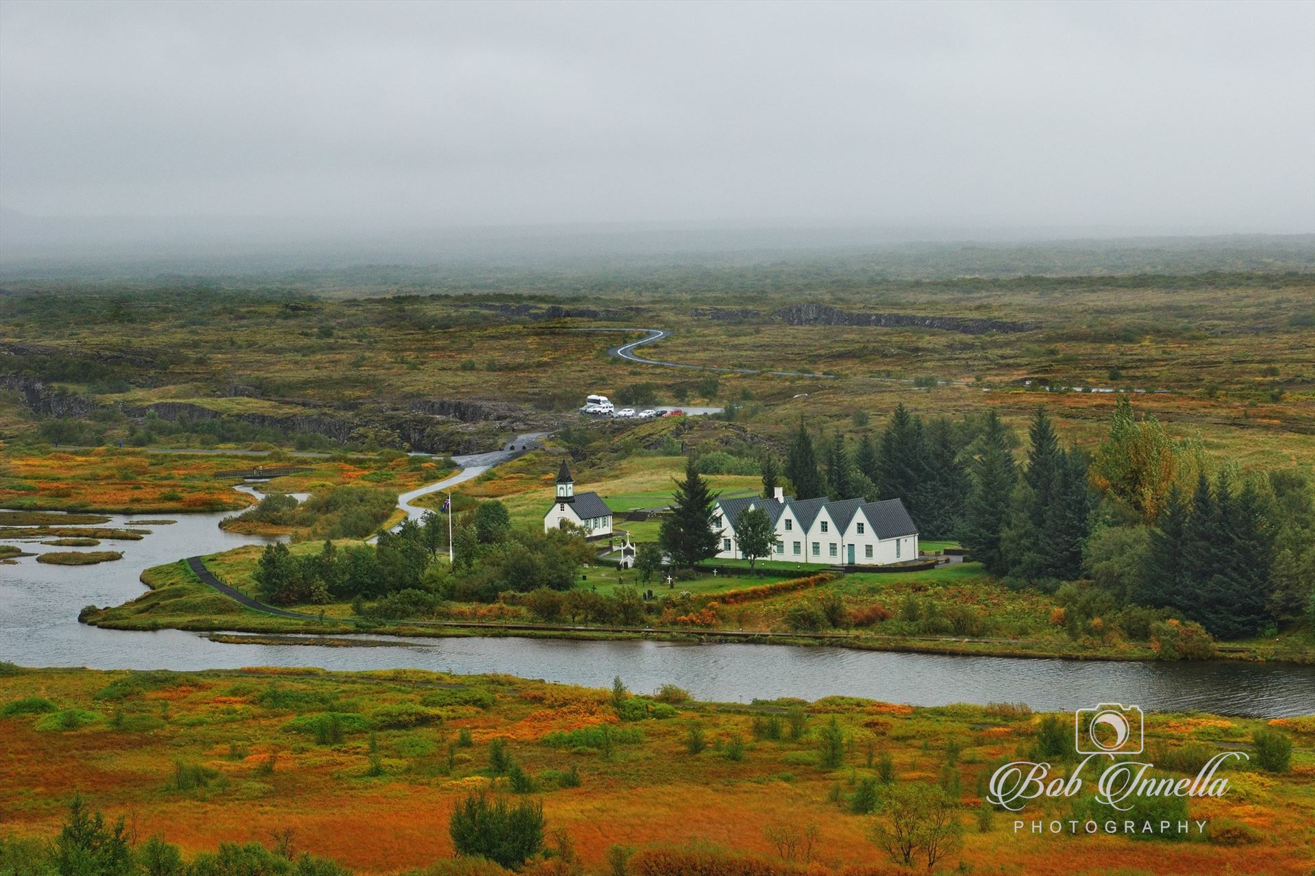 Church in Iceland - Somewhere in Iceland by Buckmaster