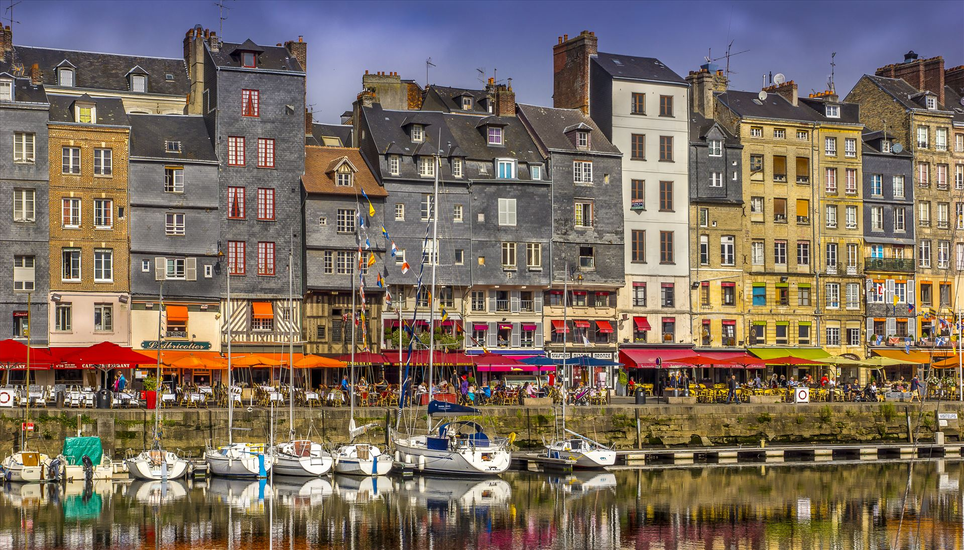 Honfleur, France - Ports don't come any prettier than Honfleur on the Seine's estuary by Buckmaster