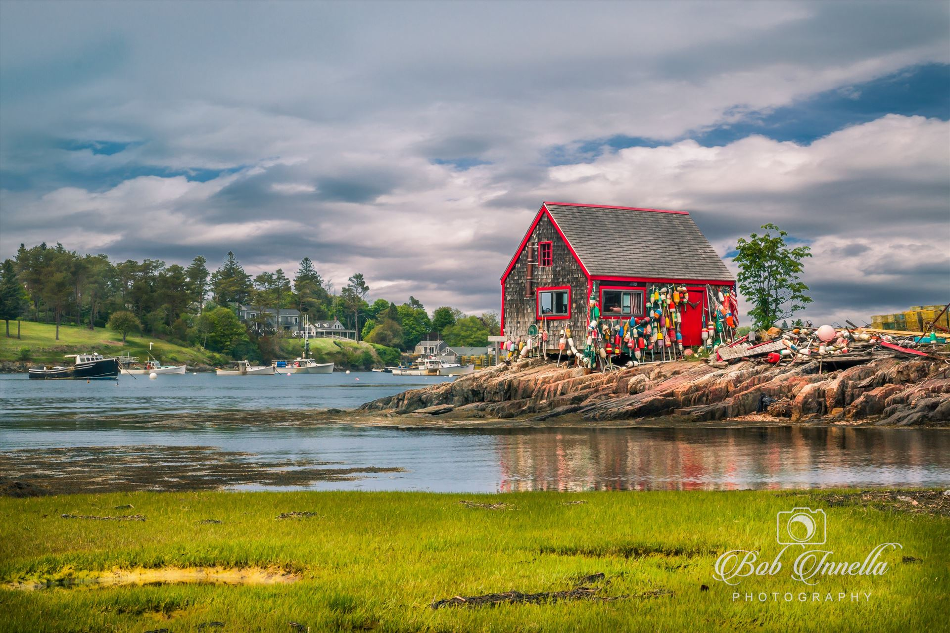 Fishing Shack, Bailey's Island, Maine -  by Buckmaster
