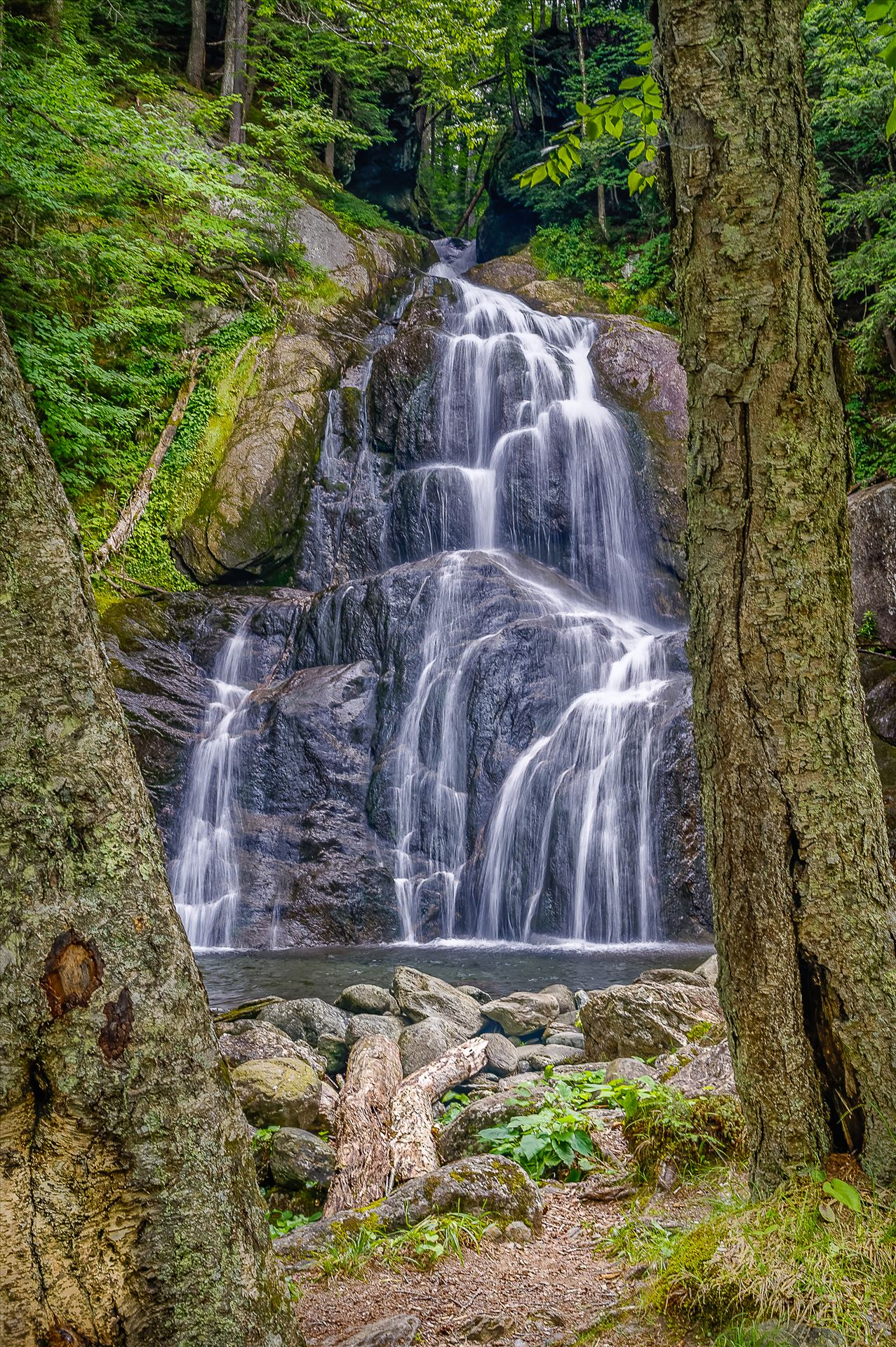 Moss Glen Falls - Located in Granville, Vermont by Buckmaster