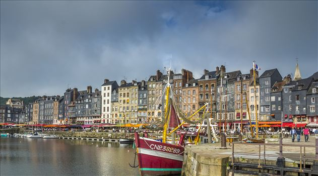 Honfleur, France - Ports don't come any prettier than Honfleur on the Seine's estuary