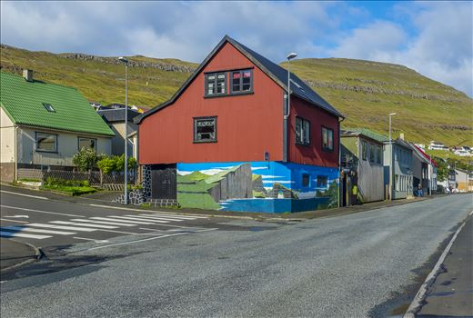 Unique Building In Klaksvik