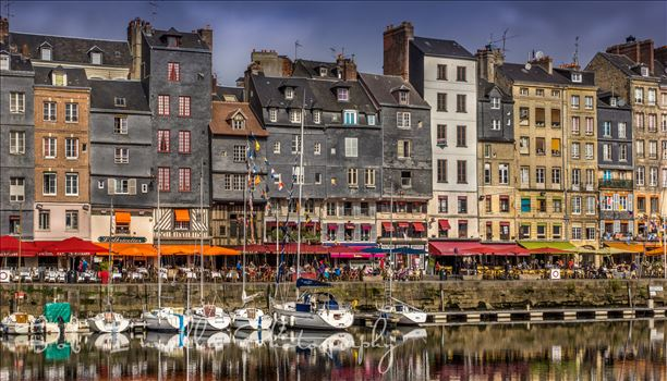 Harbor in Honfleur France 2014