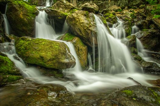 Dark Hollow Falls in The Shenandoah Mountains, Virginia