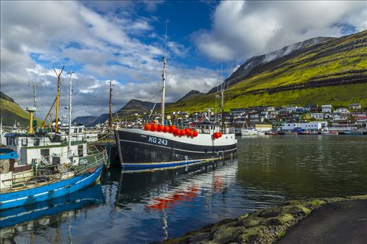 Preview of Klaksvik Harbor, Faroe Islands